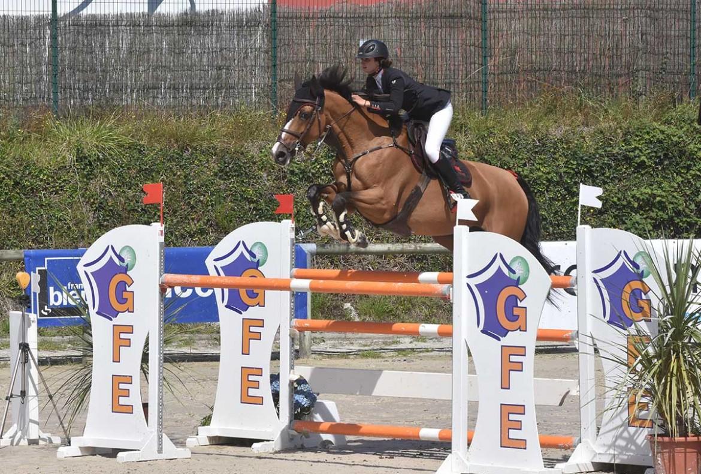 Clarance Gendron Saint Lô 2016 Reine des Ponts Jumping