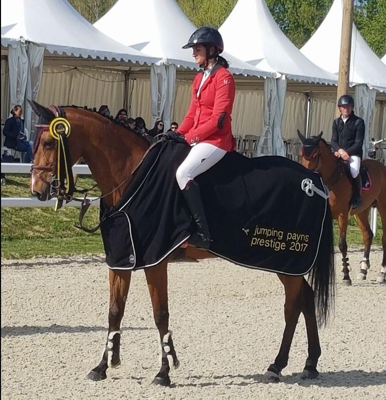 Clarance Gendron Victoire concours de Payns 2017 Tina du Danois