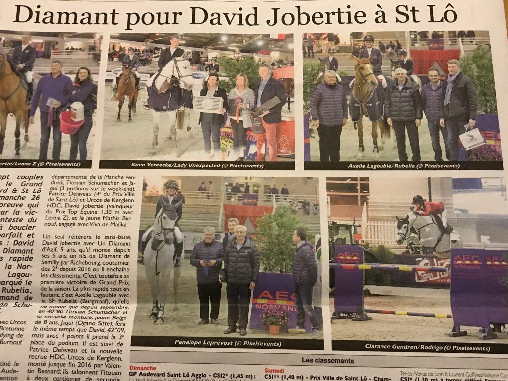 Le Cheval 15 décembre 2017